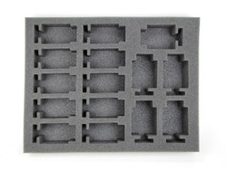 (Dark Eldar) 15 New Hellion Foam Tray (DE12BFL-2)