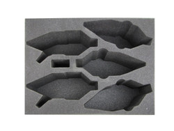 (Dark Eldar) 3 New Raveger 2 Raider Foam Tray (DE10BFL-6)