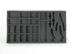 (P3) Hobby Tool and Model Foam Tray for Privateer Press Bags (PP-1.5)
