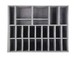 (Dark Elves) 18 Cavalry 2 Bolt Thrower Foam Tray (0043BFL-4)