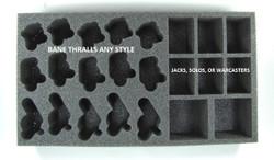 (Cyrx) Cryx Bane Thralls Troop Foam Tray (PP-2.5)