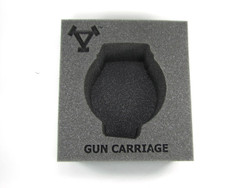 (Khador) Gun Carriage Battle Engine Foam Tray (PP.5-4)