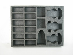 (Space Marines) 14 Bike 3 Speeder Foam Tray (SM13BFL-3)