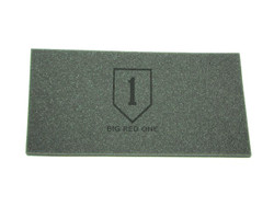(Topper) 1st Infantry Division Big Red One Foam Topper