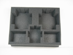 (Space Marines) 2 Land Raider 1 Predator 4 Rhino Foam Tray (SM06BFL-4)