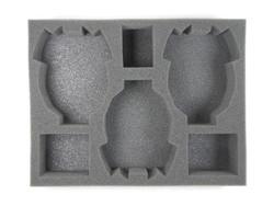 (Eldar) 3 Eldar Tank Foam Tray (E05BFL-3)