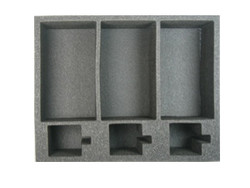 (Ork) 3 Ork Battlewagon Foam Tray (O01BFL-4)