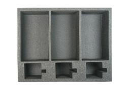 (Ork) 3 Ork Battlewagon Foam Tray (O01BFL-4)