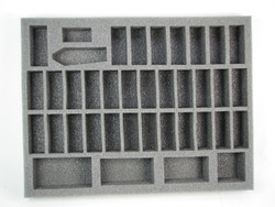 (High Elves) 35 Sword Master 2 Mage Foam Tray (HE01BFL-1.5)