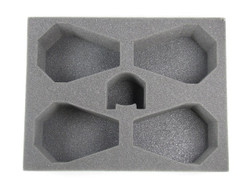 (Space Marines) 4 Drop Pods 1 Dreadnought Foam Tray (BFL-4.5)