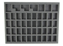 (Dark Eldar) 40 NEW Dark Eldar Wyches Foam Tray (DE08BFL-1.5)
