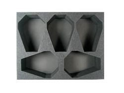(Space Marines) 5 Drop Pod Foam Tray (SM07BFL-4.5)