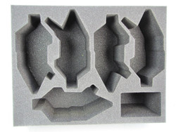 (Dark Eldar) 5 NEW Dark Eldar Raider Foam Tray (DE07BFL-6)