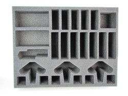 (High Elves) 6 Bolt Thrower Cavalry Foam Tray (HE05BFL-4)