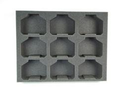 (Ork) 9 Killa Kanz Foam Tray (O09BFL-3)