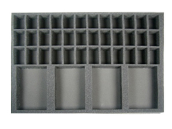 (Gen) 36 Medium Troop 4 Cavalry Foam Tray (BFL)