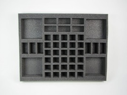 (DW) Dwarf Gunners Foam Tray (0001BFL-2)