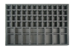 (Gen) 48 Small Model 16 Large Model Troop Foam Tray (BFL)