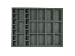 (Gen) Flames of War 15 Artillery 14 Support Foam Tray (F06BFL-1.5)
