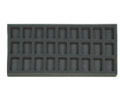 (Gen) Flames of War 27 Troop Foam Tray (BFM-1)