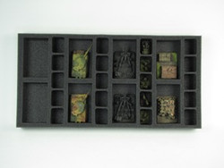 (Gen) Flames of War 8 Artillery 20 Support Foam Tray (F03BFM-1.5)