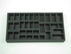 (British) Flames of War British Armored Car Patrol Foam Tray (UK06BFM-1.5)