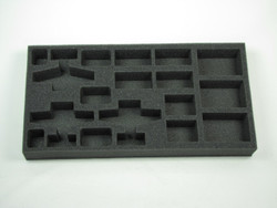 (FMG) Flames of War Firestorm Market Garden German Planes and AA Foam Tray  (FMG06BFM-1.5)