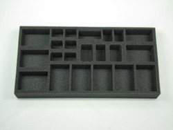 (German) Flames of War German Support Foam Tray (G06BFM-1.5)