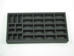 (US) Flames of War US Half-Track and Jeep Foam Tray (US10BFM-1.5)