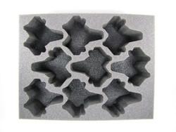 (Dark Eldar) 9 Venom Foam Tray (DE13BFL-4)