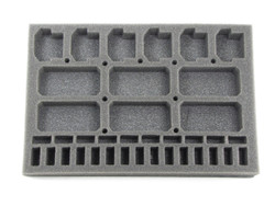 Blazing Sun Flyers Foam Tray (BFS-1)