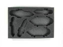 FSA Carrier and Battleship Foam Tray (BFS-1.5)