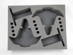 (Dark Eldar) 2 Razorwing Jetfighter Foam Tray (BFL-4)