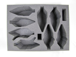 (Air) Dark Eldar Raider Raveger P.A.C.K. Air Foam Tray (PA-6)