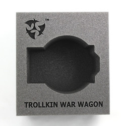 (Trollbloods) Trollkin War Wagon Battle Engine Foam Tray (PP.5-4.5)