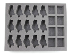 (Space Marines) 15 Space Wolves Fenrisian Wolf 8 Terminator Foam Tray (BFL-2)
