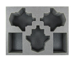 (Space Marine) 3 Stormtalon 2 Rhino Foam Tray (BFL-3.5)