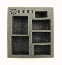 Khador Starter Demo Half Foam Tray (PP.5-2.5)