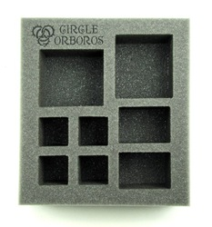 Circle Orboros Starter Demo Half Foam Tray (PP.5-2.5)