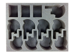 (Tau) 9 New Broadside 3 Crisis Suit Foam Tray (BFL-3)