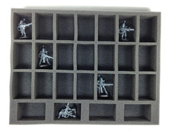 Disclaimer: Battle Foam® and its products are not affiliated with or endorsed by Games Workshop, Ltd in any way.  If models are pictured, they are for size comparison only and are the personal property of Battle Foam employees.