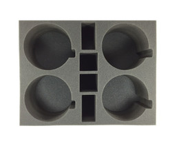 (Adeptus Mechanicus) 4 Dunecrawler Foam Tray (BFL-4.5)