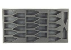 (Tyranids) 25 Termagant Foam Tray (BFM)