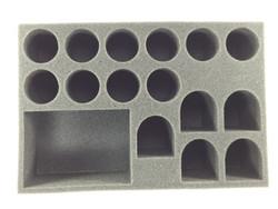 (Space Marine) 1 Rhino 5 Terminator 10 Troop Foam Tray (BFS-3)