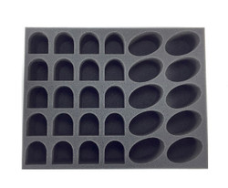 (Space Marines) 20 Terminator 10 Bike Foam Tray (BFL-2.5)