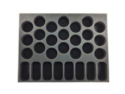 (Space Marine) 8 Bike 21 Terminator Foam Tray (BFL-2.5)