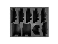 (30K) 6 Custodes Jetbikes 2 Skimmer 1 Contemptor Foam Tray (BFL-3.5)