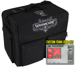 (Warmachine) Privateer Press Warmachine Bag Half Tray Custom Load Out