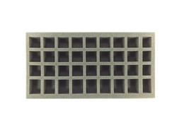 24 Small 8 Medium 4 X-Small Standing Model Foam Tray (BFM)