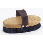 Wood Back Horse Hair Body Brush